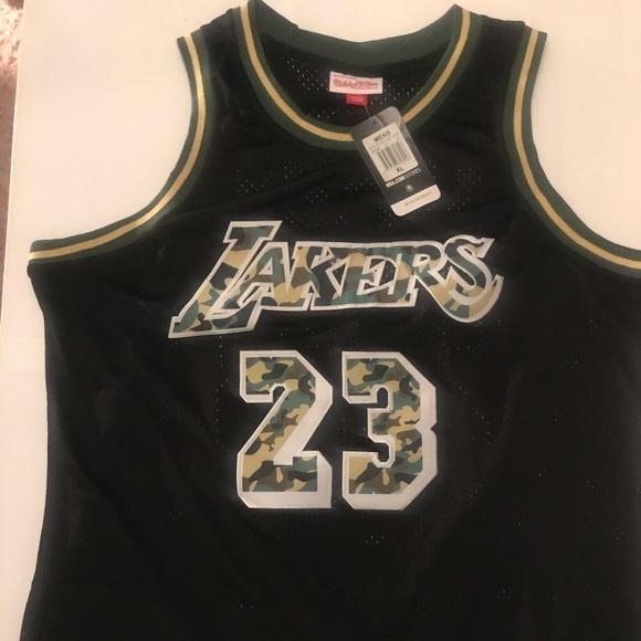 Lakers Camo Jersey LeBron James
